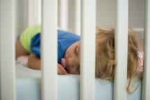 waar slaapt een baby onder