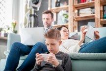 smartphone binnen gezin