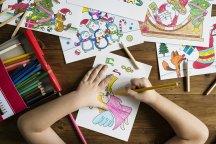 tekeningen bewaren kind