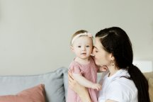 minder stress moederschap