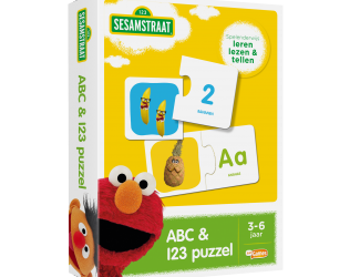 Sesamstraat abc 123