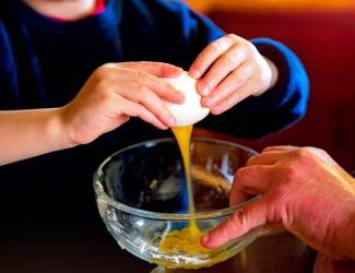 keuken koken kinderen helpen