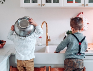 helpen huishouden kinderen